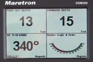 Maretron DSM250, N2K ups & downs